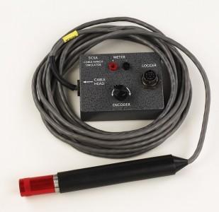Эмулятор для лебёдки, одножильный кабель с кодирующим устройством и каротажным кабелем - Matrix 18-контактный коннектор