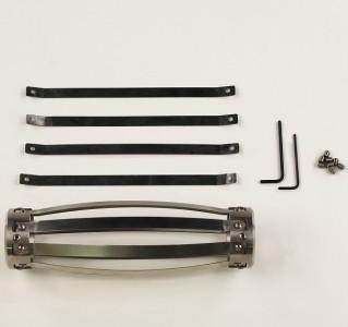 """Металлический центратор для 40 мм зондов, скважин диаметром 56 - 89 мм (2.2-3.5"""")"""