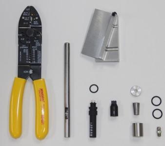 """Расширенный набор замены головки для 6.35 мм (0.25"""") 4-х жильного кабеля"""