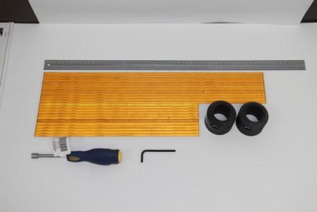 Пластиковые централизаторы для зондов диаметром 38 мм