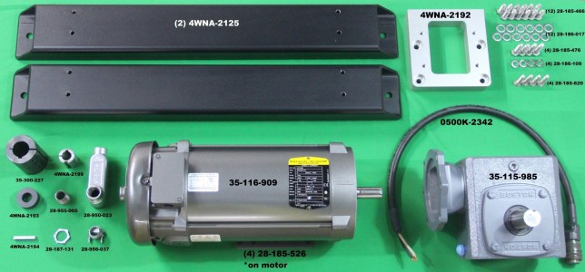 Комплект обновления лебёдки WNA 2 л.с. (4WNA-3700)