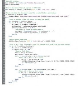 Модуль автоматизации процессов WellCAD