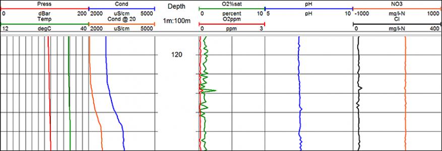 Многопараметрический прибор для исследования воды QL40-ОCЕАN